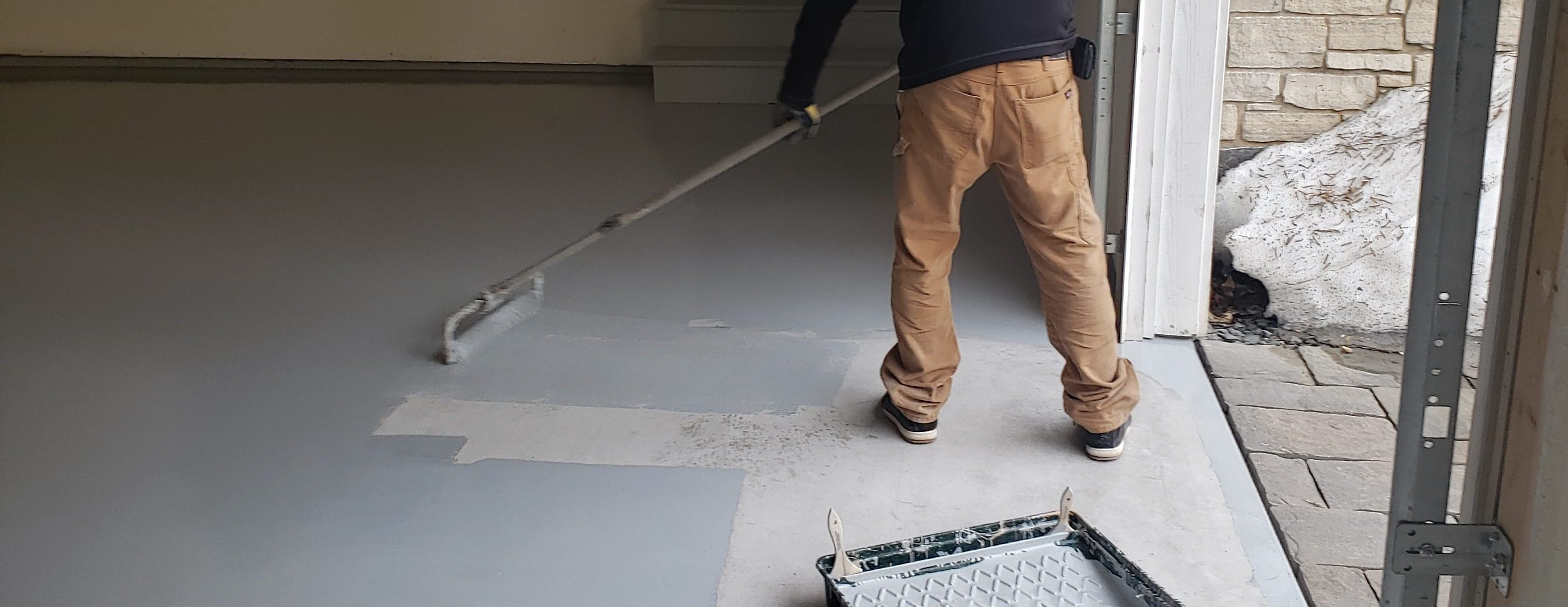 Floor Coating Process