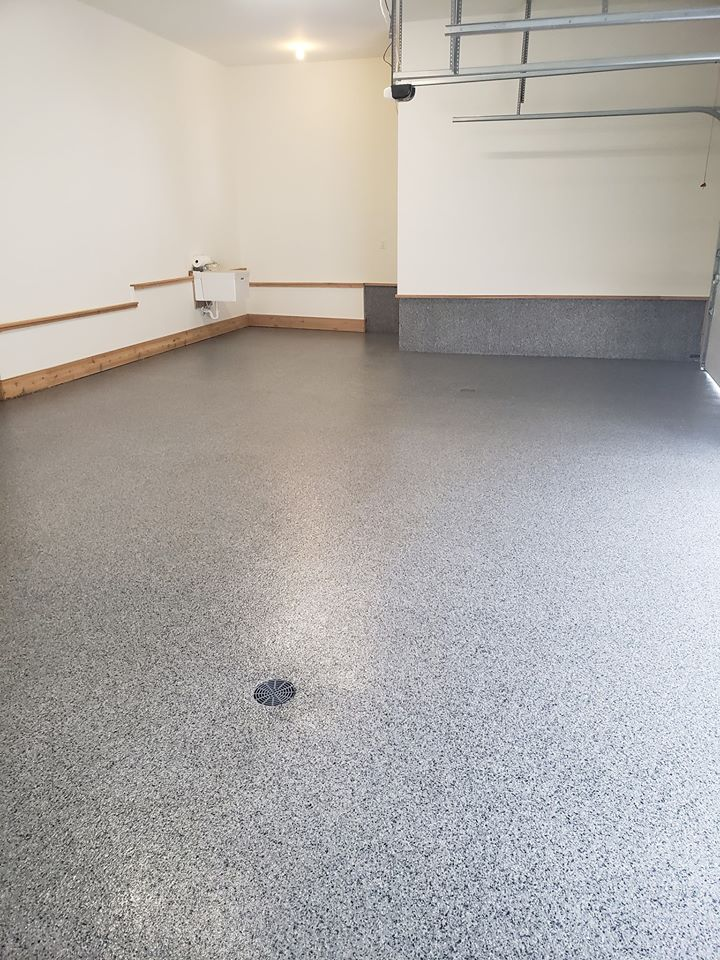 Garage Floor Coating in Plymouth
