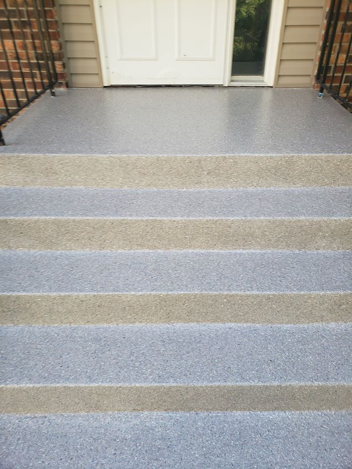 Concrete Stair Coatings